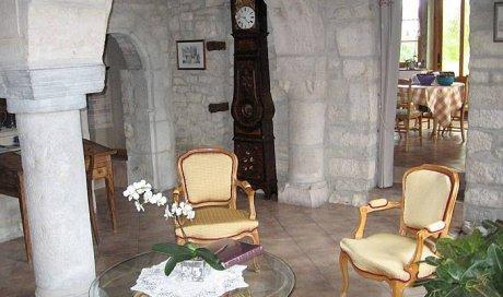 Intérieur, chambres de la maison d'hôtes à Chevigney-lès-Vercel